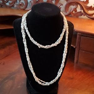 Pearl 4 strand necklace